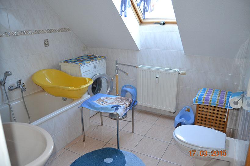 Badezimmer-Ferienwohnung